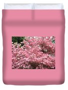 Dogwood Tree Flowers Art Prints Canvas Pink Dogwood Duvet Cover