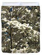 Dogwoods In Bloom Duvet Cover