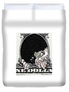 Dollar Fear Duvet Cover