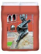 Dolly Pardon Statue 1 Duvet Cover
