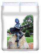 Dolly Pardon Statue 2 Duvet Cover