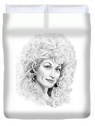 Dolly Parton Duvet Cover