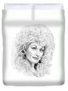Dolly Parton Duvet Cover