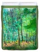 Dolly Sods Trees Duvet Cover