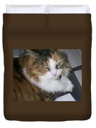 Dolly The Grumpy Cat Duvet Cover