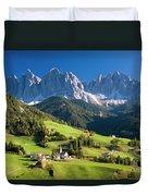 Dolomites, Italy #3 Duvet Cover