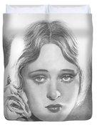 Dolores Costello Duvet Cover