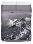 Runnin' Dolphin  Duvet Cover