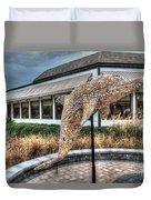 Dolphin Shell Art Sculpture Duvet Cover