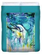 Dolphin Smile Duvet Cover