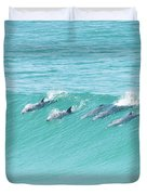Dolphin Team Duvet Cover