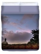 Dome And Clouds - Guatemala Iv Duvet Cover