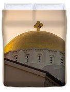 Dome And Cross At St Sophia Duvet Cover