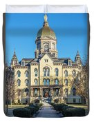 Dome At University Of Notre Dame  Duvet Cover