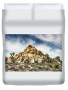 Dome Rock - Joshua Tree National Park Duvet Cover