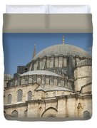 Domes Of Suleymaniye Mosque Duvet Cover