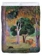 Dominican Landscape Duvet Cover
