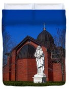 Dominican Sisters Jesus And Mary Duvet Cover