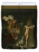Dominique Ingres   Angelica Saved By Ruggiero Duvet Cover