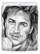 Don Johnson Duvet Cover
