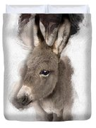 Donkey Foal No 02 Duvet Cover