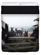 Donkeys Duvet Cover