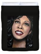 Donna Summer Duvet Cover by Tom Carlton