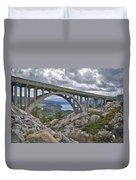 Donner Memorial Bridge Duvet Cover