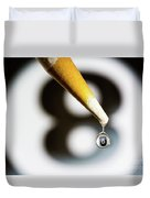 Don't Fall Behind The Eight Ball Duvet Cover