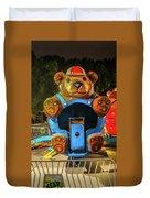 Don't Feed The Bears Duvet Cover