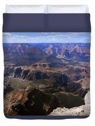Don't Get Too Close To The Edge Duvet Cover