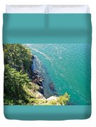 Don't Look Down 2 Duvet Cover