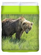 Don't Mess With Mama Bear Duvet Cover