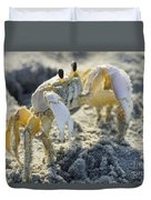 Don't Mess With The Crab Duvet Cover