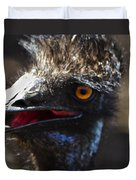 Dont Mess With The Emu Duvet Cover
