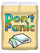 Don't Panic Duvet Cover