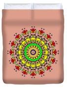 Doodle Mandala Duvet Cover