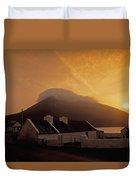 Doogort And Slievemore, Achill Island Duvet Cover