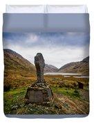 Doolough Famine Memorial Cross Duvet Cover