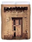 Door #3 Duvet Cover