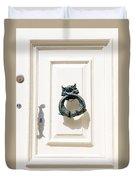 Door Knobs Of The World 1 Duvet Cover