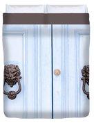 Door Knobs Of The World 37 Duvet Cover