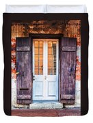 Door No. 2 Duvet Cover