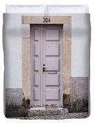 Door No 204 Duvet Cover