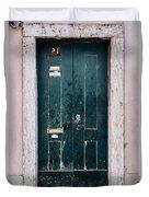 Door No 21 Duvet Cover