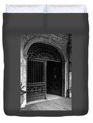 Door Of The Cabildo Duvet Cover