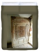 Door To Feudal Times Duvet Cover