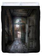 Door To Stairs Duvet Cover