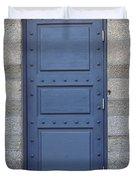 Door With No Handle Duvet Cover