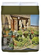 Little Paradise In Tuscany/italy/europe Duvet Cover